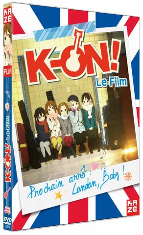 K-on – le film DVD