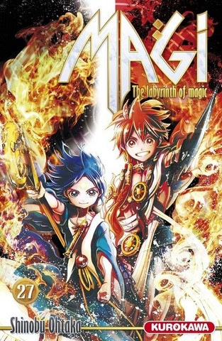 Magi : The Labyrinth of Magic 21