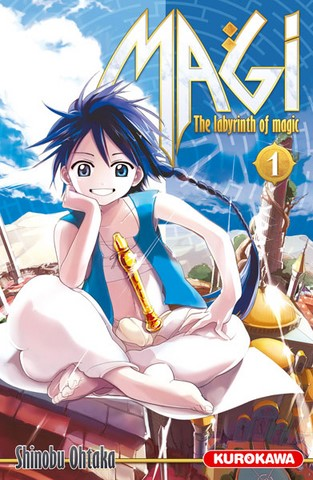 Magi : The Labyrinth of Magic 1